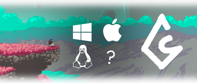 Windows, macOS, and Linux are planned to be supported. Further ports on different platforms are being discussed, and will more than likely be part of the Stretch Goals!