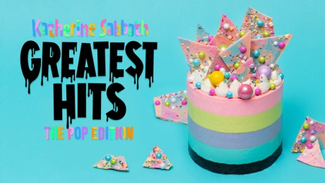 Katherine Sabbath Greatest Hits A PopUp Cake Cookbook By - 18 savage cakes that get straight to the point
