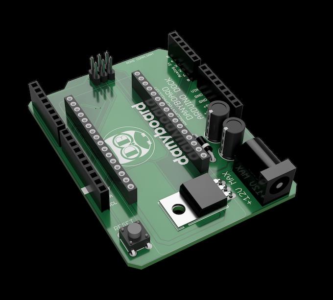 Danyboard M0 Electronic Prototyping Platform By Giuseppe