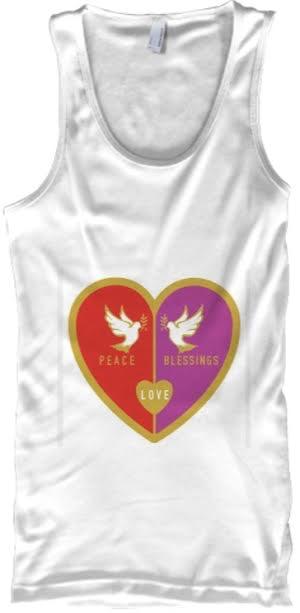 Peace Love Blessings Tank Top