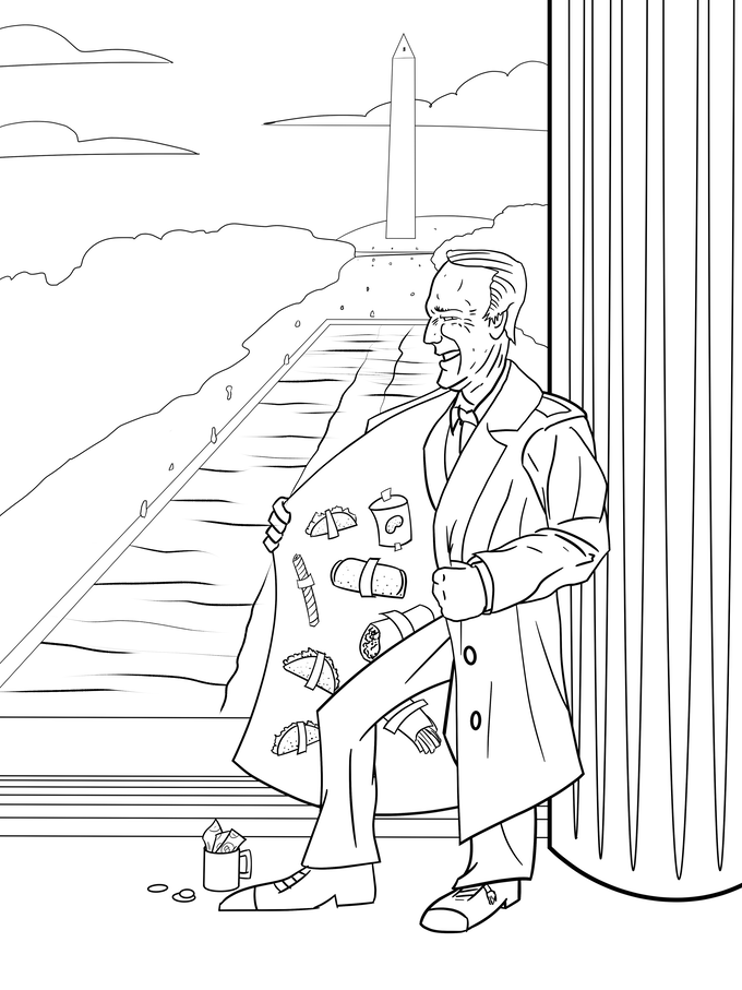 Adventure buddies youuuge book of the coloring for winners for Joe biden coloring pages