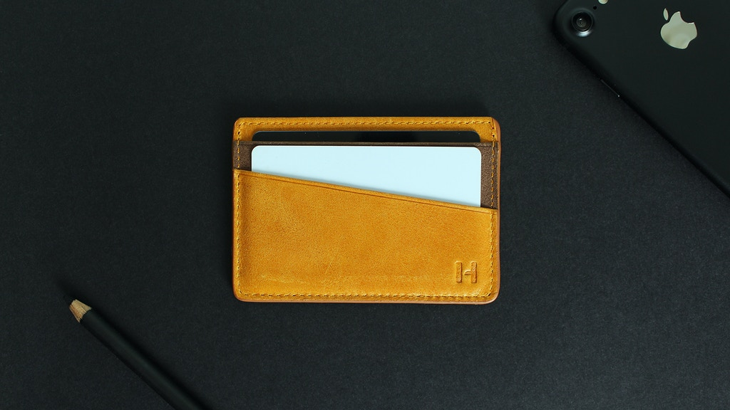 Huberton | Genuine Leather Slim Wallets. project video thumbnail