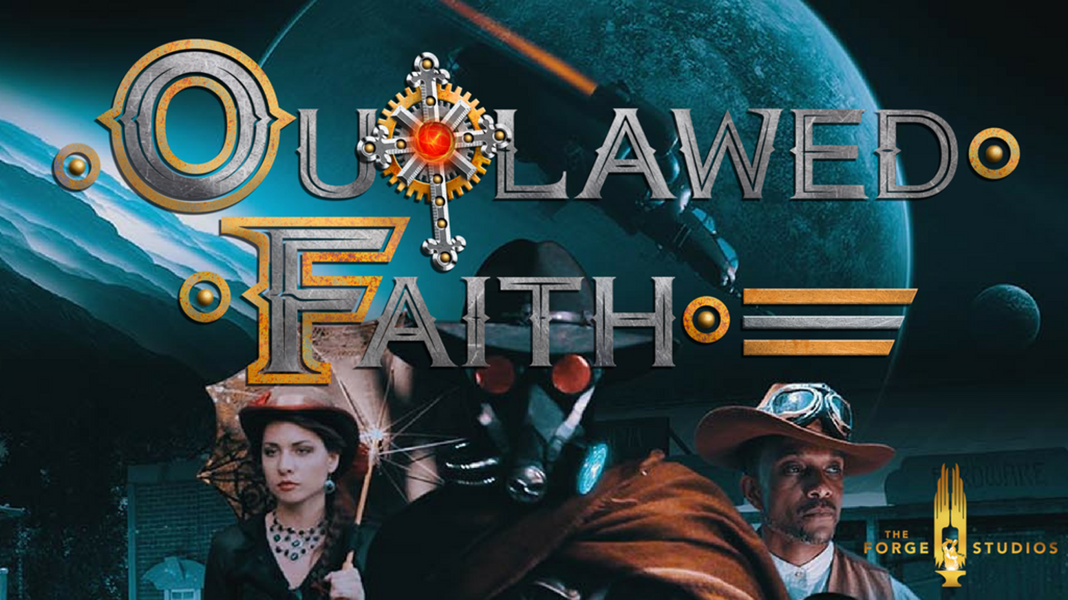 Set in a Steampunk universe with a Sci-fi Western edge, this tale begins a journey of high adventure.