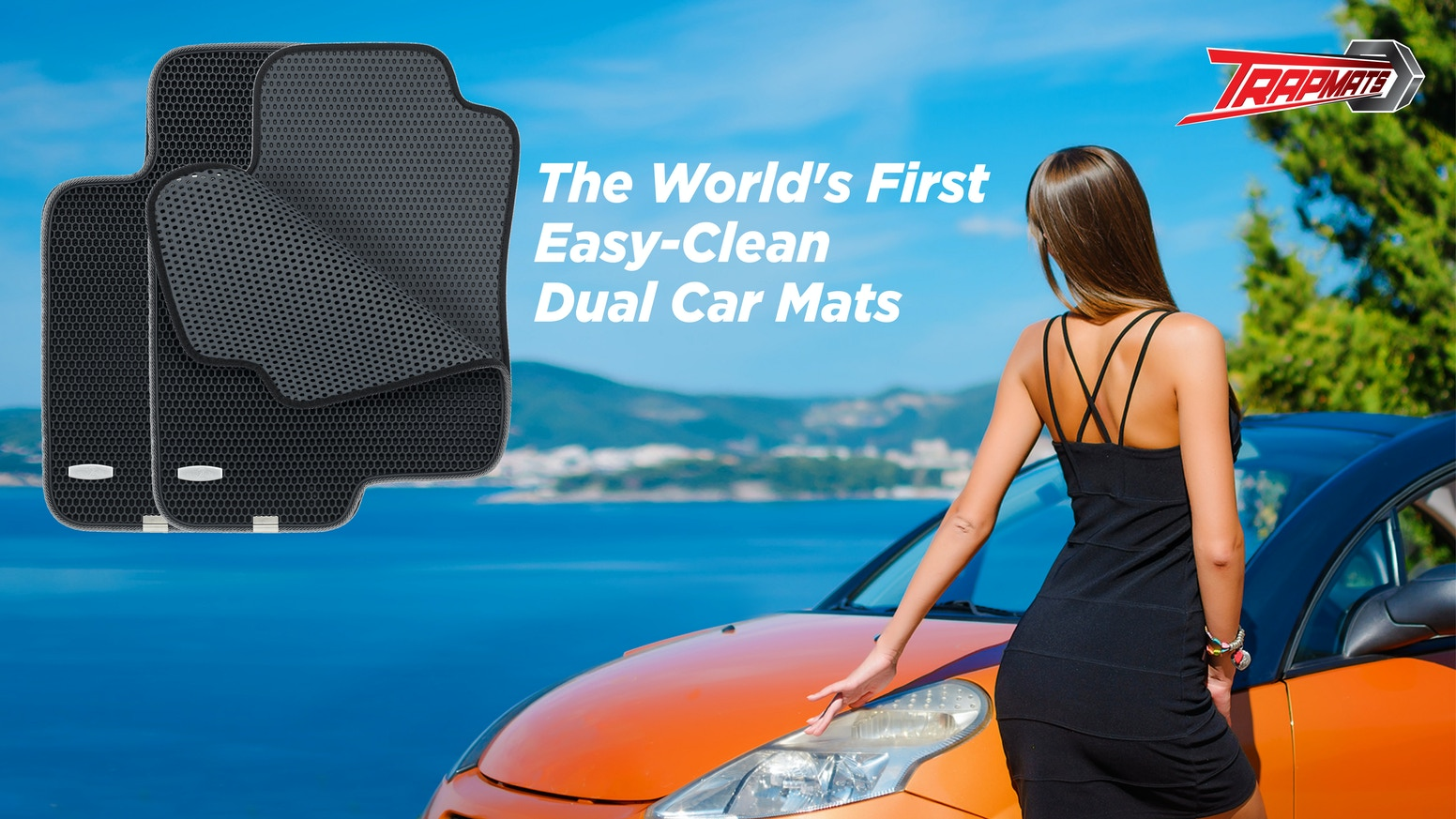 TRAPMATS: THE WORLD\'S FIRST EASY-CLEAN DUAL CAR MATS by Byung Kim ...