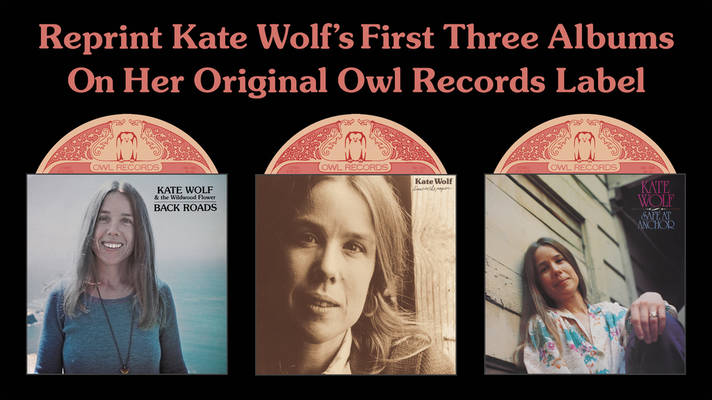 Kate Wolf's First Three Albums (reprint) project video thumbnail
