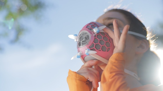 Hexa – The Ultimate Clean Air Supply Mask