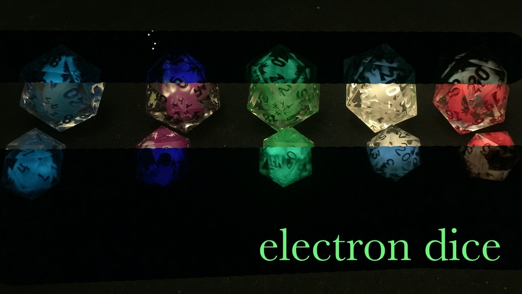 electron dice project video thumbnail