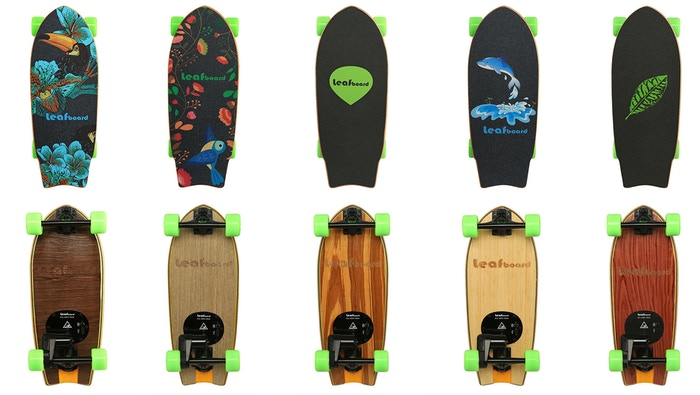 Weighing 9.7 lbs and achieving speeds of up to 19 mph, Leafboard is the lightest electric skateboard affordable for everyone.