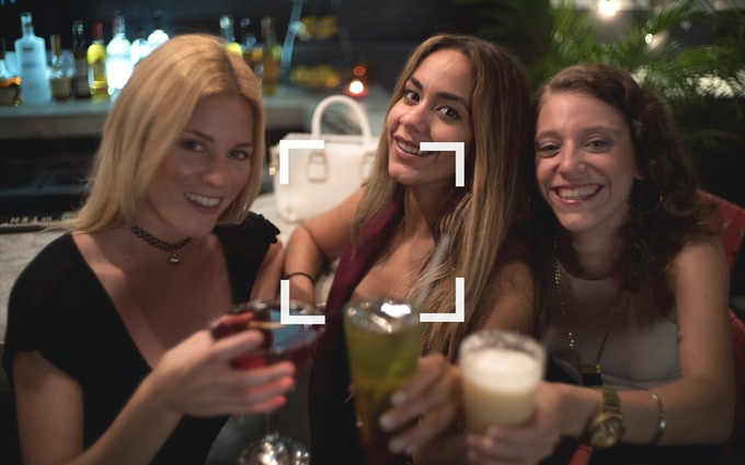 Ladies nights: Capturing the whole picture.