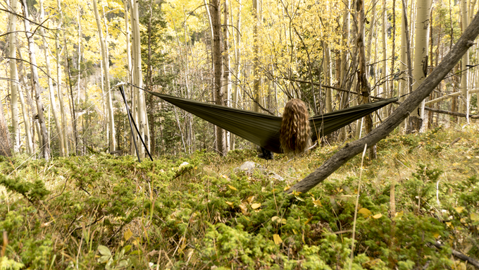 Relax With The YOBO Hammock Stand