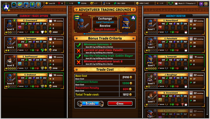 Epic Manager: Create your own Adventuring Agency! by