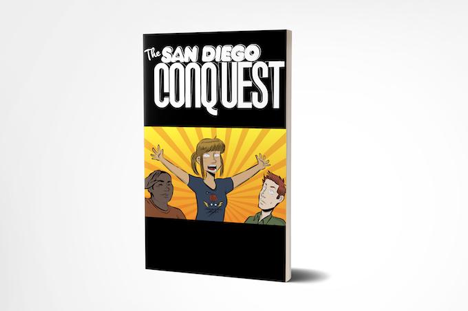 """Kickstarter exclusive lenticular """"Reaction GIF """" cover"""