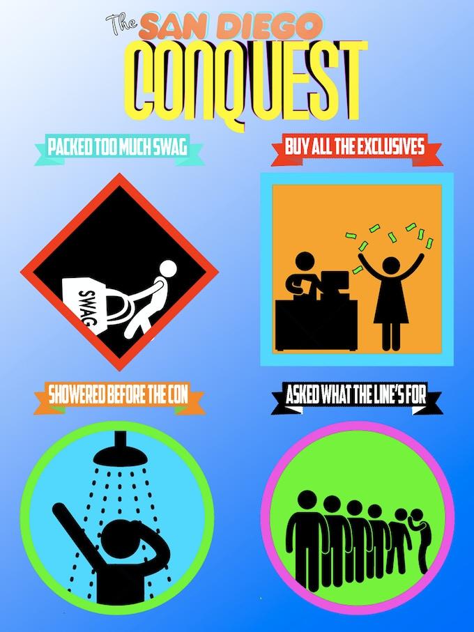 Comic Convention Merit Badges!!!