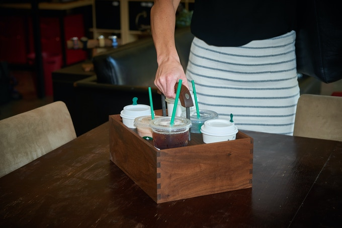 'The Coffee Caddie' is the name that stuck, but it can be used to tote around all your favorites. Whether it is coffee, water, soda, sports drinks, adult beverages, or even full wine bottles for a gathering, The Coffee Caddie will take care of you.
