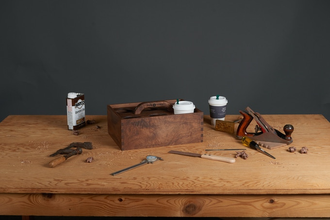 It is finished with danish oil to enhance the beauty of the walnut and is very easy to maintain.