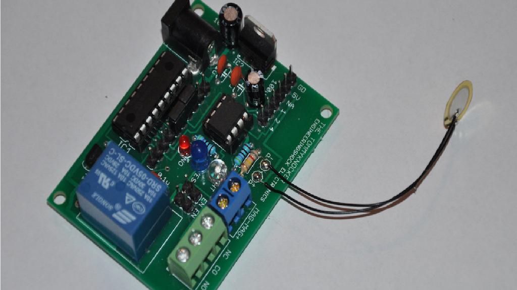 The Tommy-Knocker Arduino Compatible Secret Knock LOCK! project video thumbnail