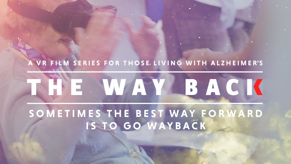 THE WAYBACK:Virtual Reality helping people with Alzheimer's project video thumbnail
