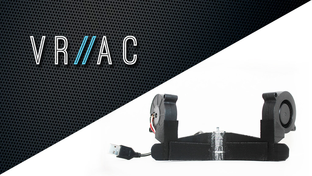 Project image for VR-AC: Fan Cooling System for the HTC Vive (Canceled)