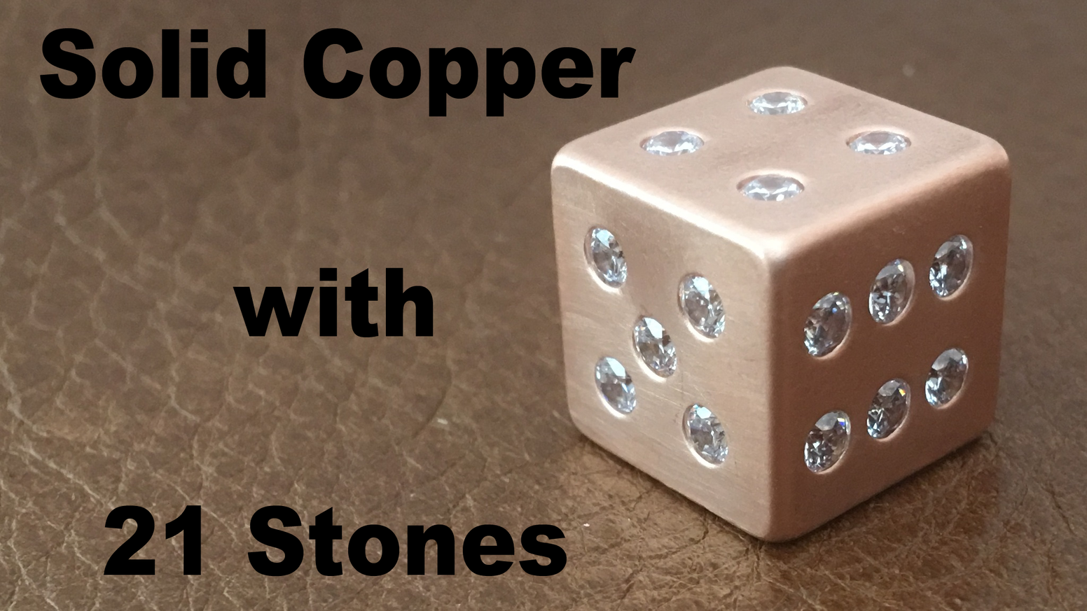 You don't need to even roll these dice to make your opponents think twice! Conquer your next game night with these One-of-a-kind dice.