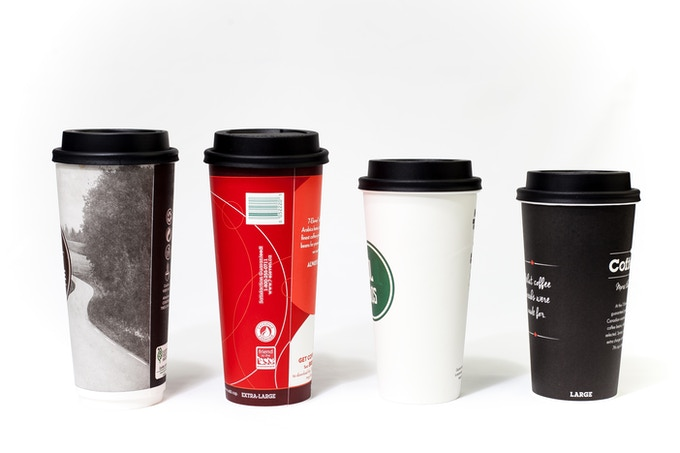 Fits on most brands large and X-large cups, XL will often fit a tall can.