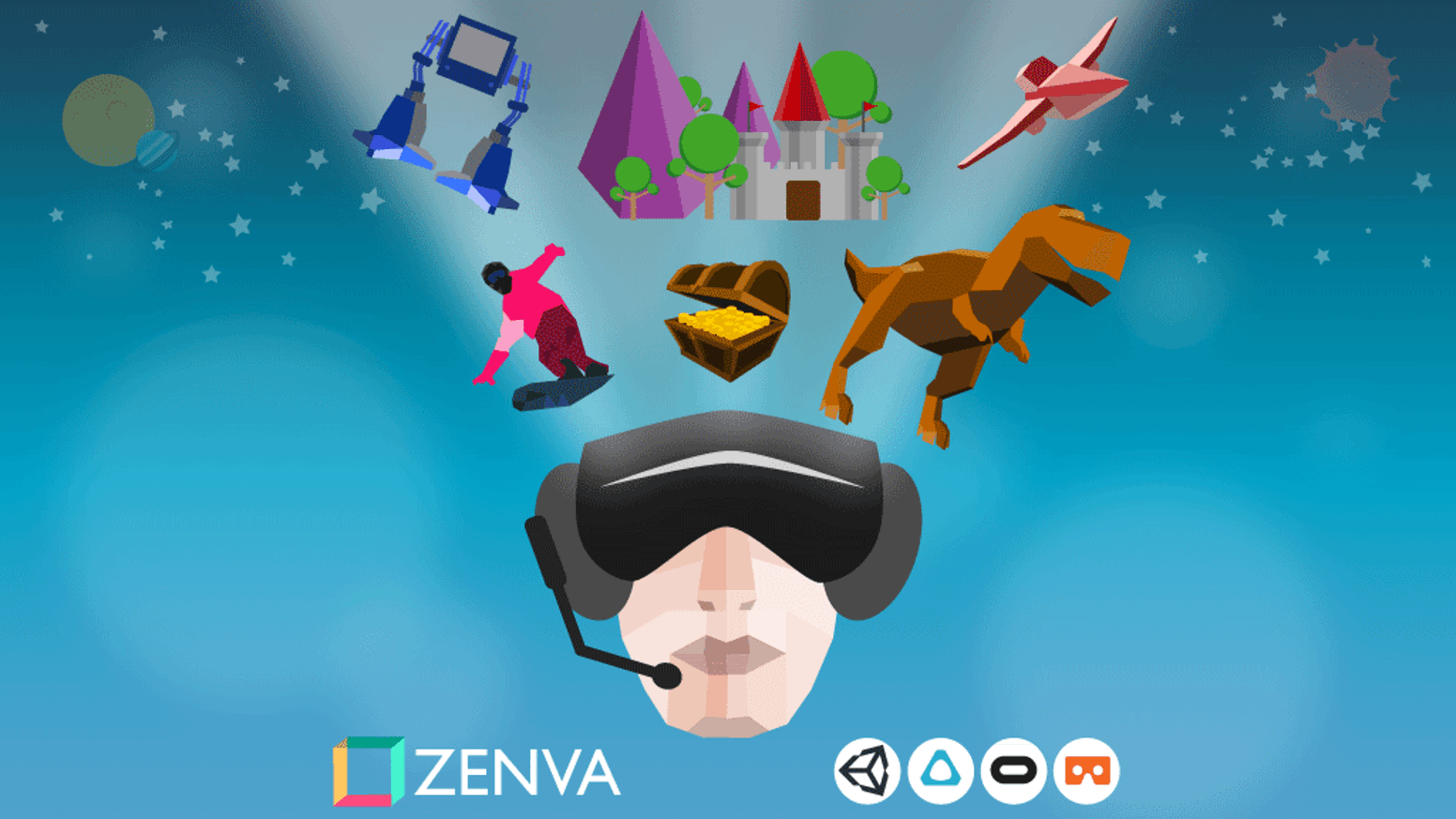 Enroll in the world's most comprehensive online course on VR game development with Unity. Learn by building 15 projects!