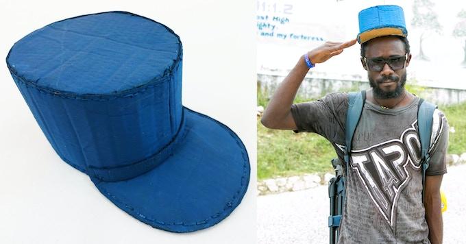 $40 - Ra Ra marching band hat.