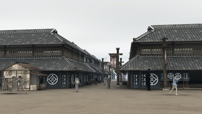 Echigo-ya (The First largest department store) Overview