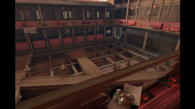 Theatre of Kabuki Act -inside overview-