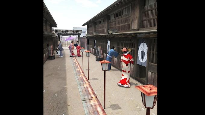 Yoshiwara- Red Light District- Street Overview2
