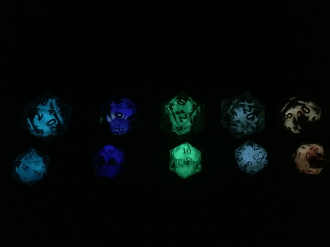 All of the dice in the dark