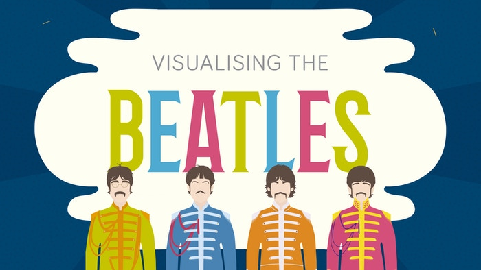 The full Visualising The Beatles book is now available, and can be bought using the button below: