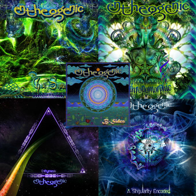Entheogenic Digital Releases (and a preview of Hakan's art)