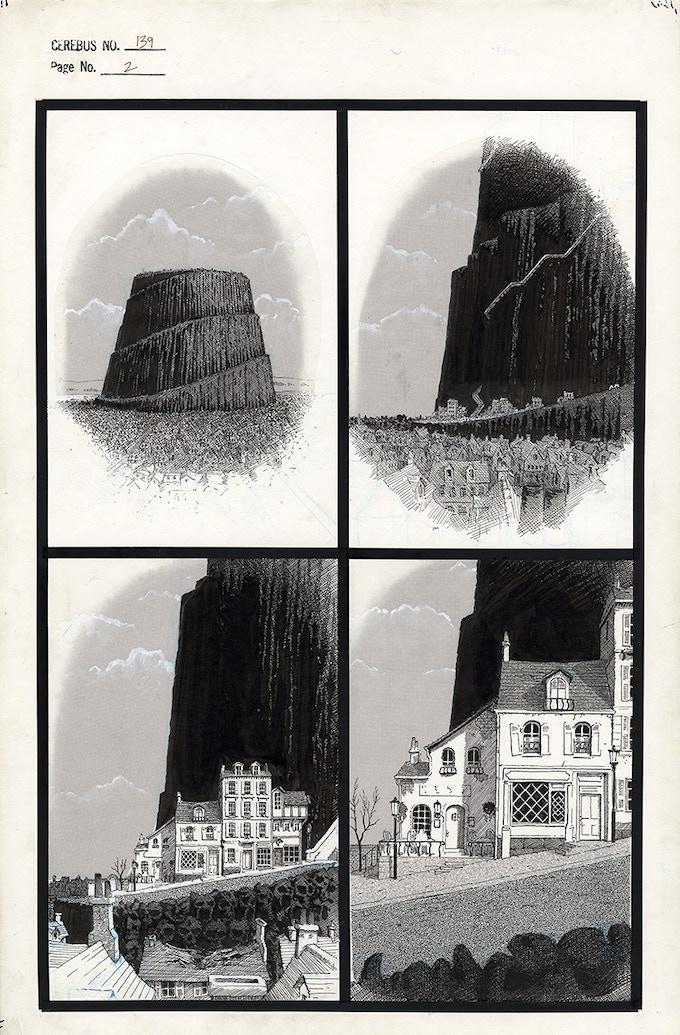 Cerebus No. 139 - Page 2