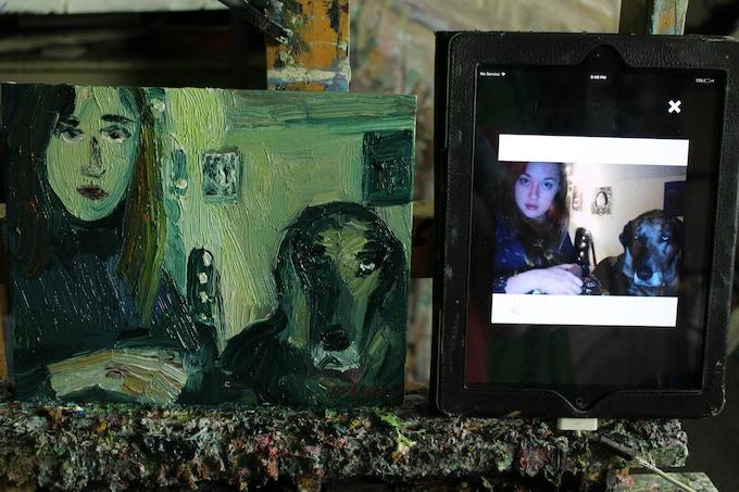 Portrait paintings for $100