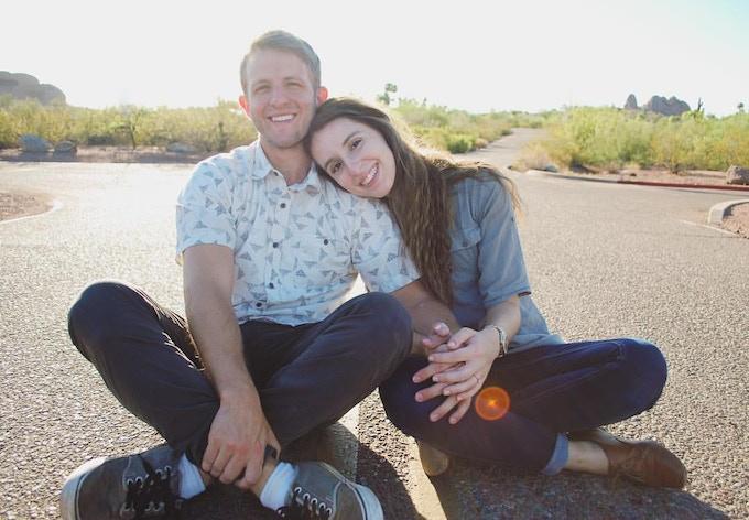 David & Kristina, now married, met on Mutual