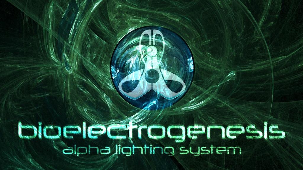Project image for ¡Alpha Lighting System: Bioelectrogenesis!