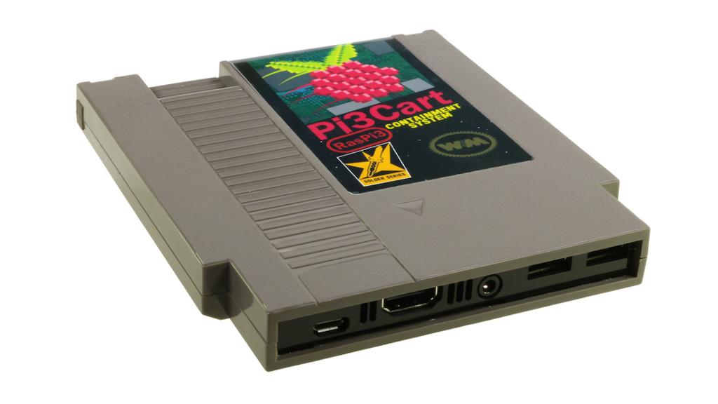 Pi3Cart: NES Cartridge Case for Raspberry Pi 3 project video thumbnail
