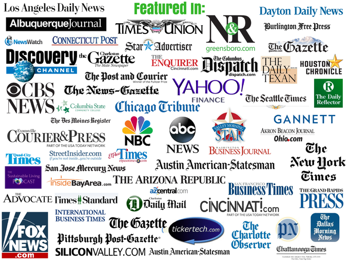 Thanks to all media sources! More are covering this campaign than we can possibly include. These were some of the first to publish.