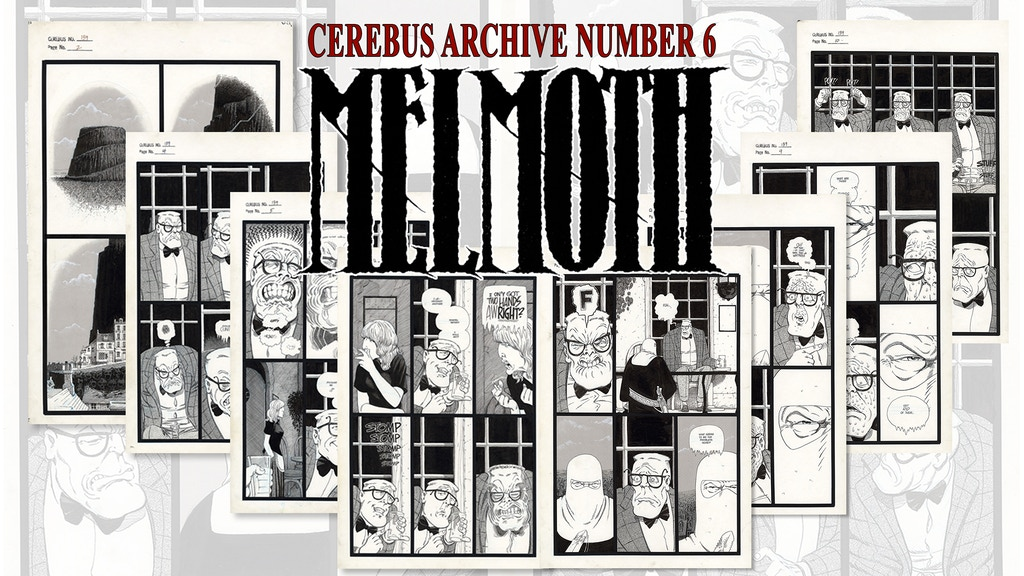 CAN6 - CEREBUS ARCHIVE NUMBER SIX project video thumbnail