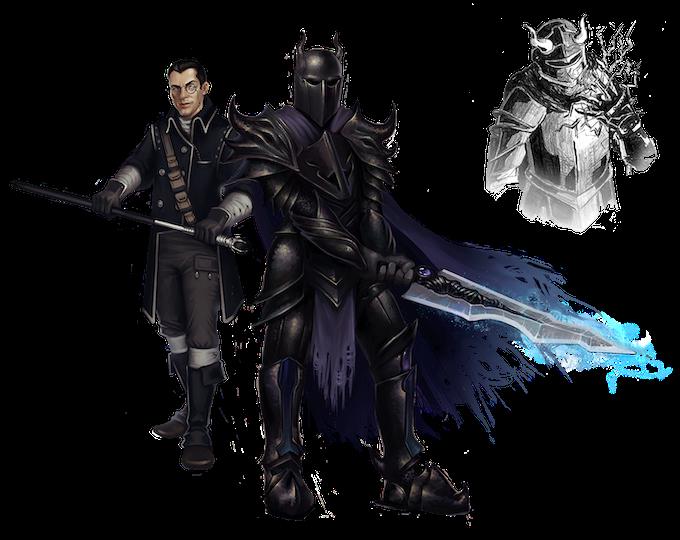 Art Sample of the Diamond Skull Guild