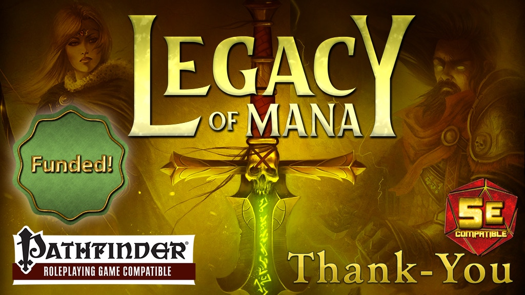 Legacy of Mana: RPG Setting Guide for Pathfinder and 5E project video thumbnail