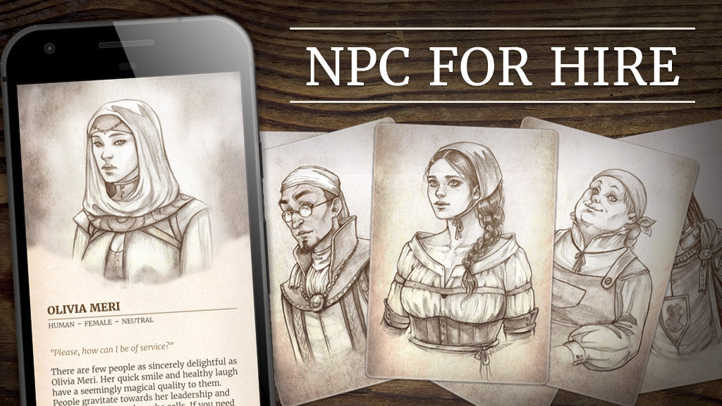 NPC For Hire project video thumbnail