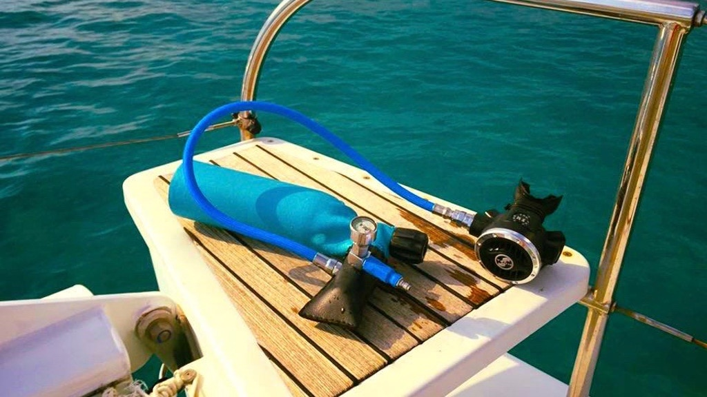 Minidive The First Mini Scuba Tank Refilled By The