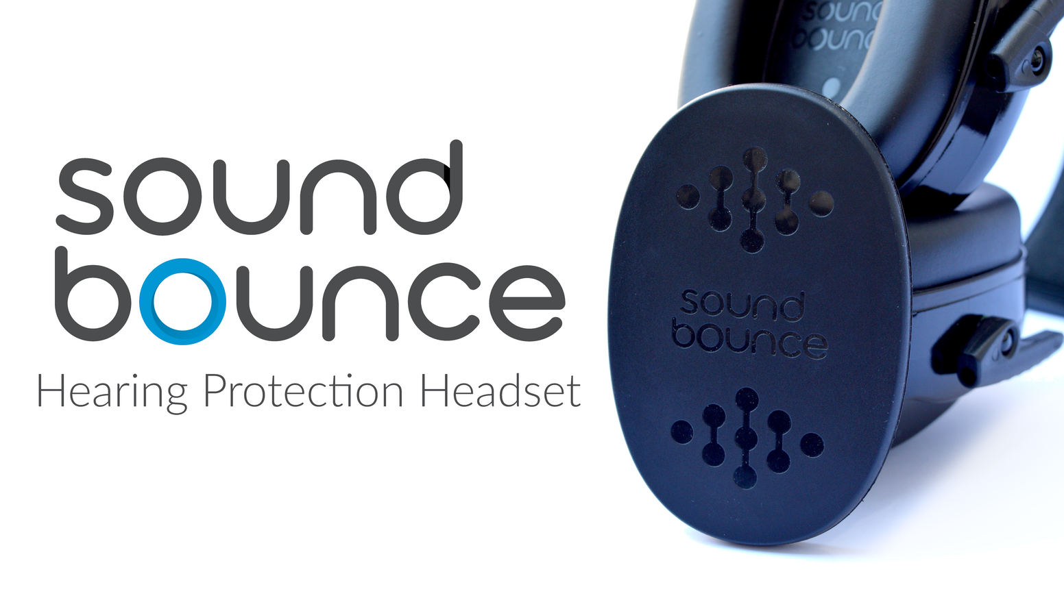 Sound Bounce is the first hearing protection to use smart material technology that absorbs damaging sounds.