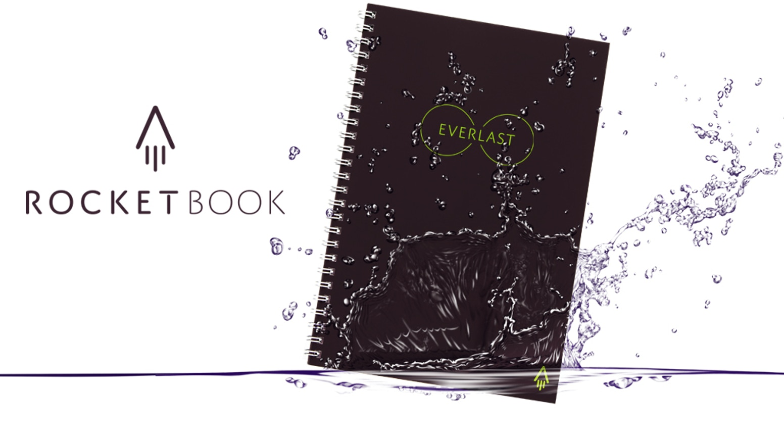 A smart paper-and-pen notebook that's endlessly reusable? That's not magic. It's the Rocketbook Everlast.