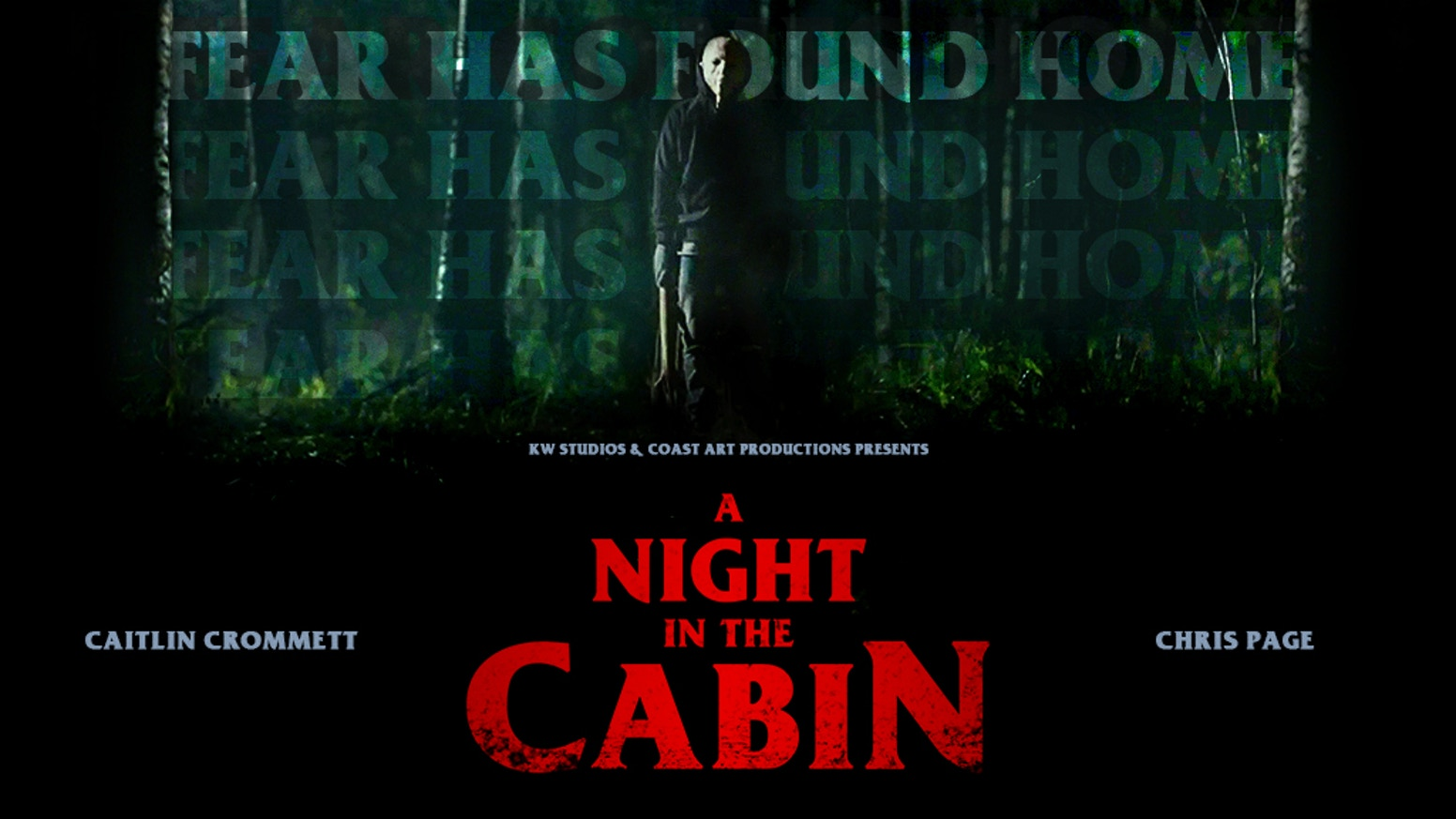 "Feature horror film that has already been shot in Sweden, ""A Night in the Cabin"", is an independent Swedish/American production"