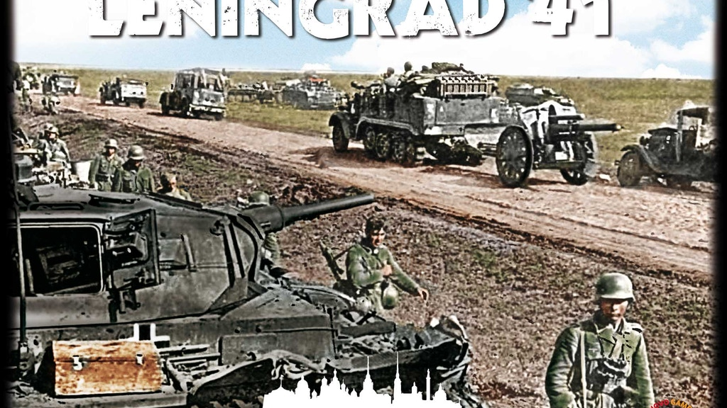 Leningrad '41; Strategy Game, Battle on the Eastern Front project video thumbnail