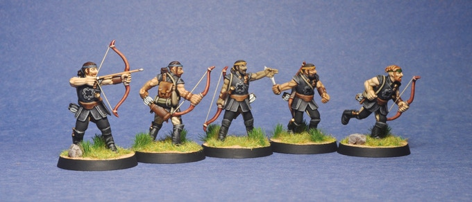 Rapani Warriors (painted by James White)