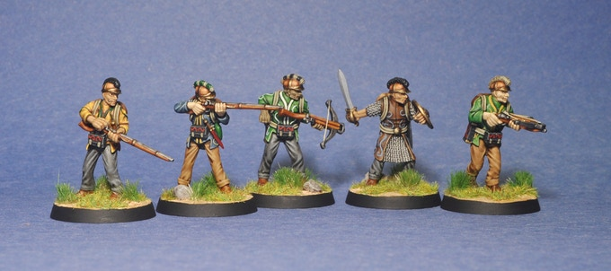 Dumah Rangers (painted by James White)
