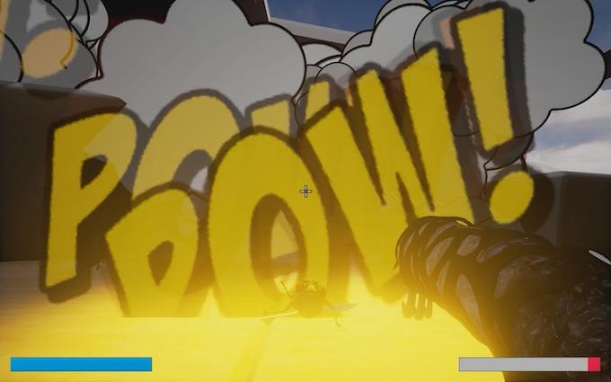 Unleash devastation with the grub cannon.